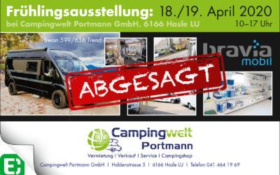 ABGESAGT: Frühlingsausstellung: 18./19. April 2020